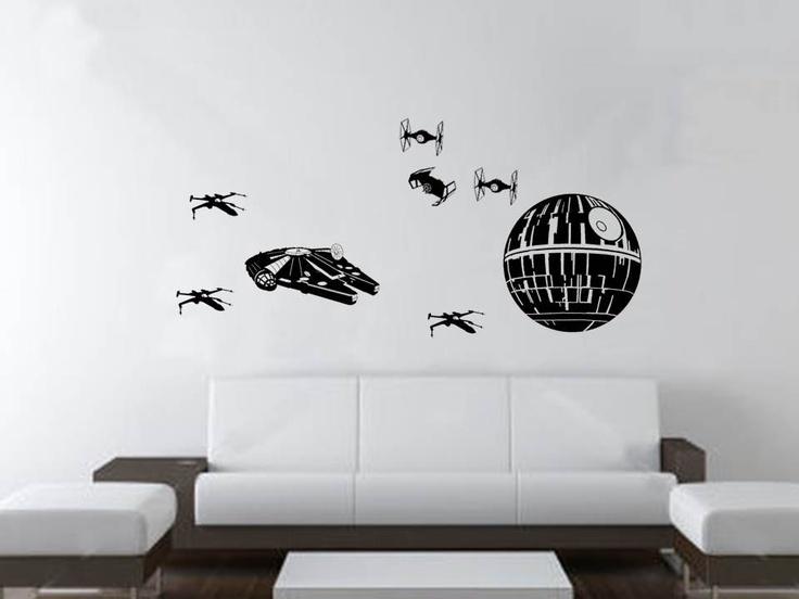 Minimalista Star Wars szoba